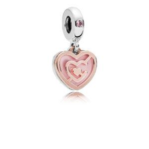 Pandora Charm pendente patto d'amore 787801NBP