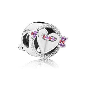 Pandora Charm freccia e cuore scintillanti 797827CZMX